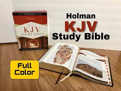 Holman KJV Study Bible Review