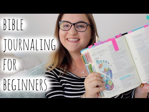 Bible Journaling for beginners | My process + Tips