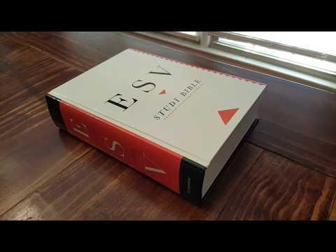 Crossway ESV Study Bible Hardcover