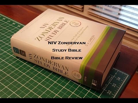 NIV Zondervan Study Bible - Bible Review