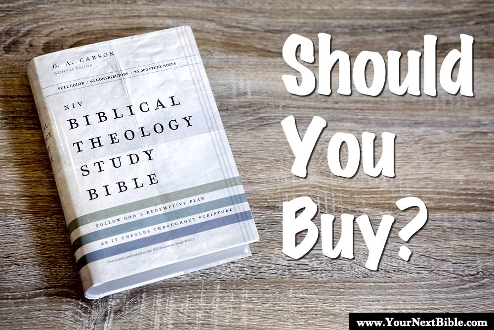 Biblical Theology Study Bible Review