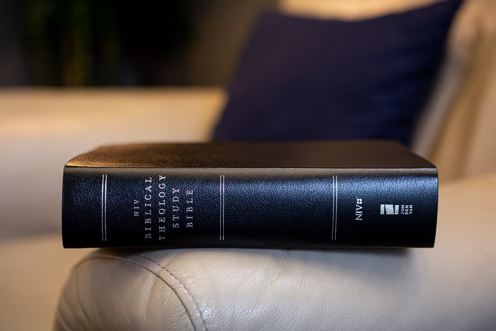 Biblical Theology Study Bible Black Leather