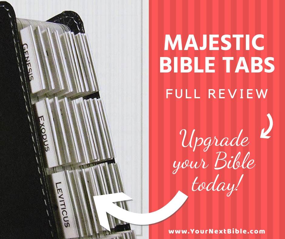 majestic bible tabs review