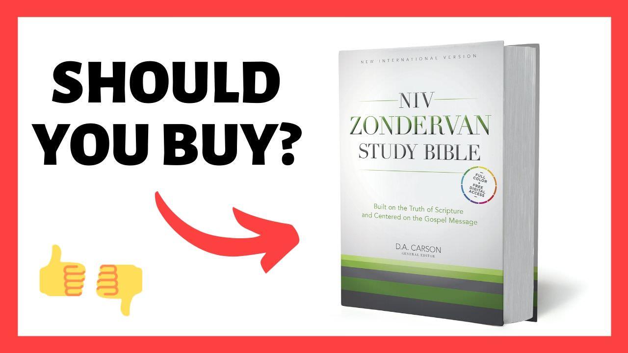 Zondervan Study Bible Review