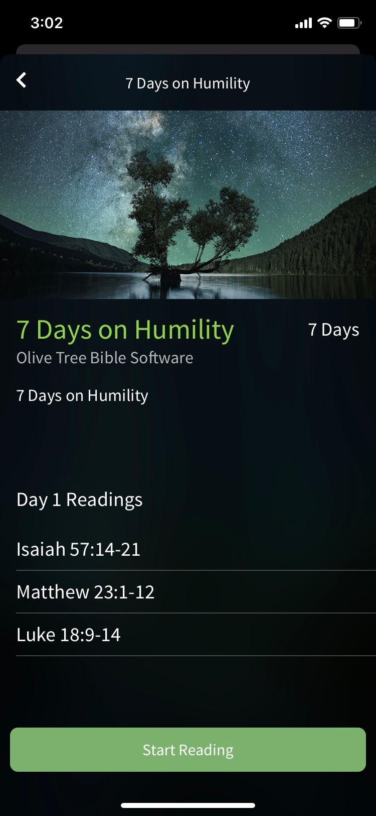 bible app by olive tree study plan