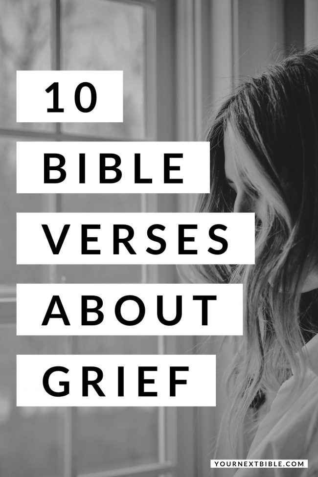 bible verses for grief