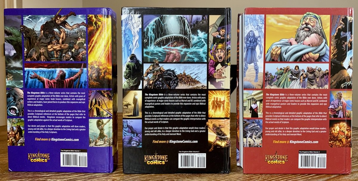 Kingstone Bible Back Covers