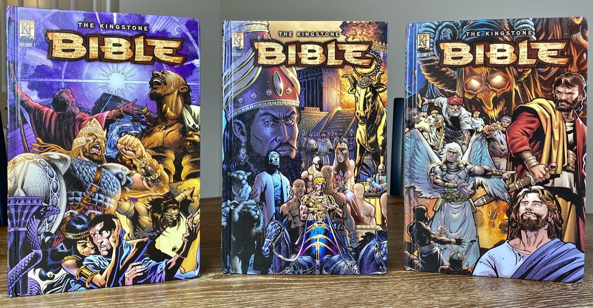 Kingstone Bible Front Covers