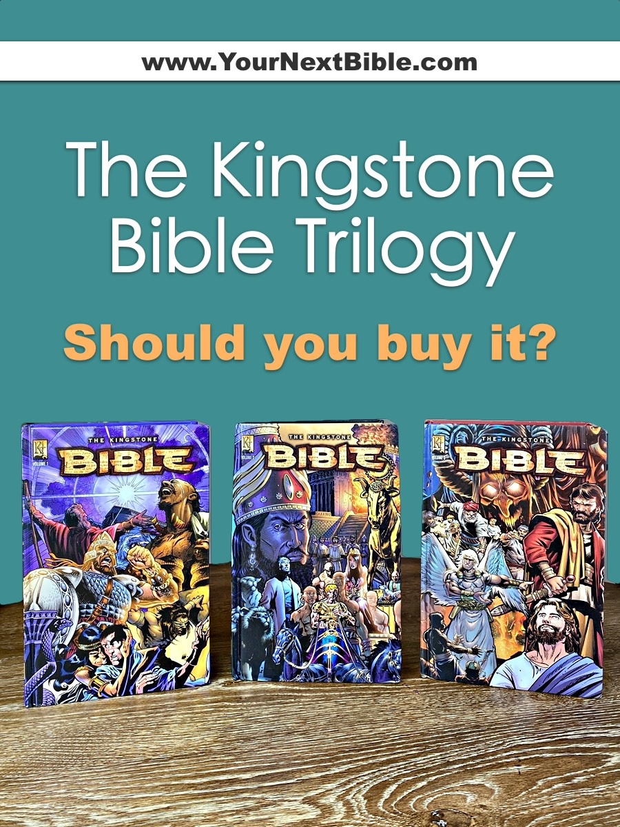 Should you buy The Kingstone Bible